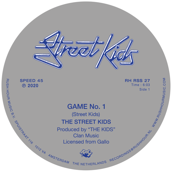 STREET KIDS - GAME NO. 1 / LAST NIGHT