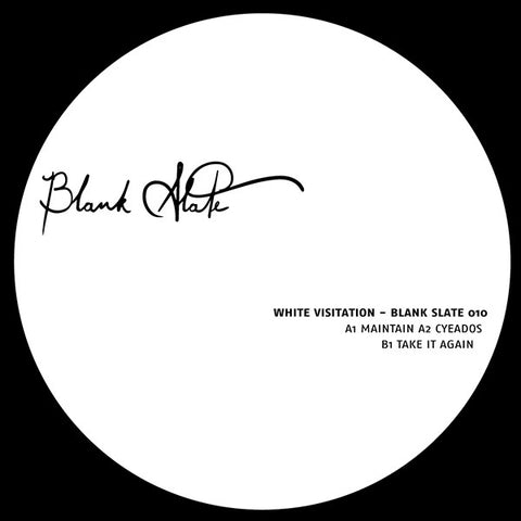 White Visitation - Blank Slate 010 - Lobster Records