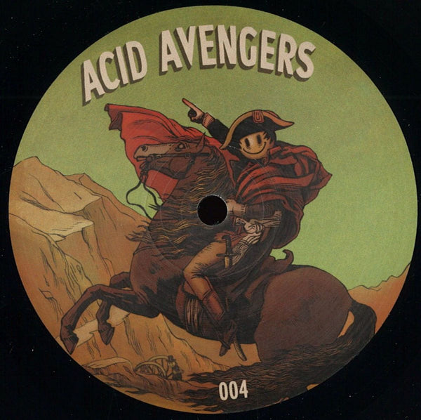 Dez Williams , Tonotopy - Acid Avengers 004