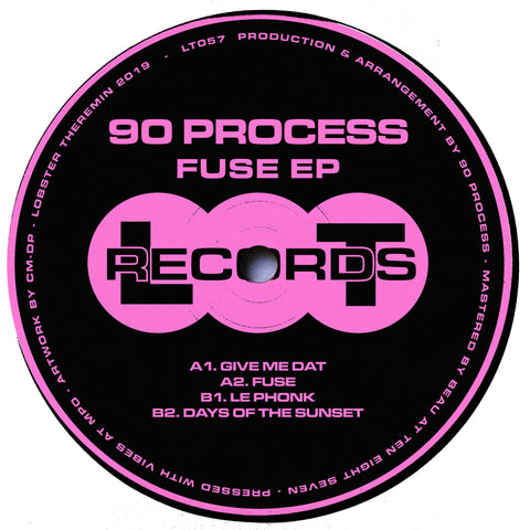 90 Process - Fuse EP