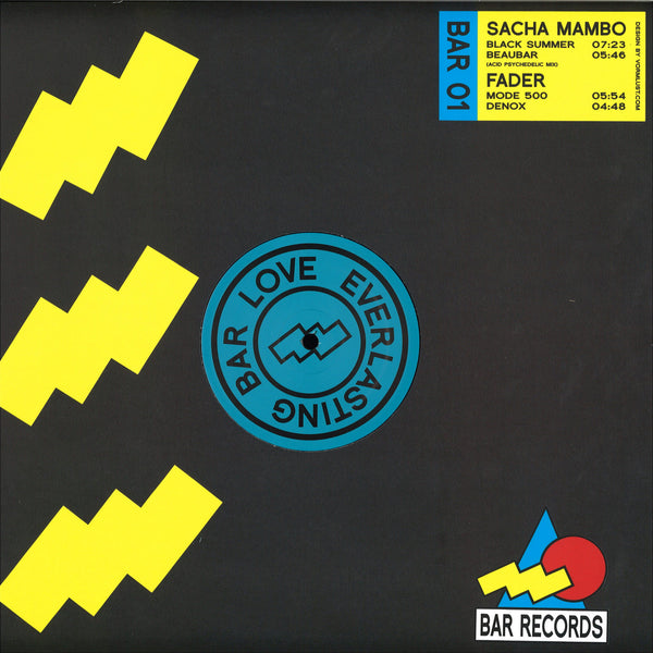 Sacha Mambo / Fader - BAR Records 01
