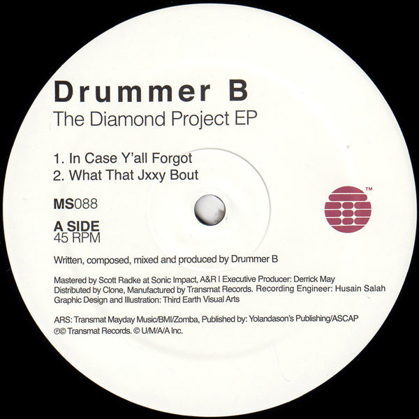 DRUMMER B - The Diamond Project EP 1