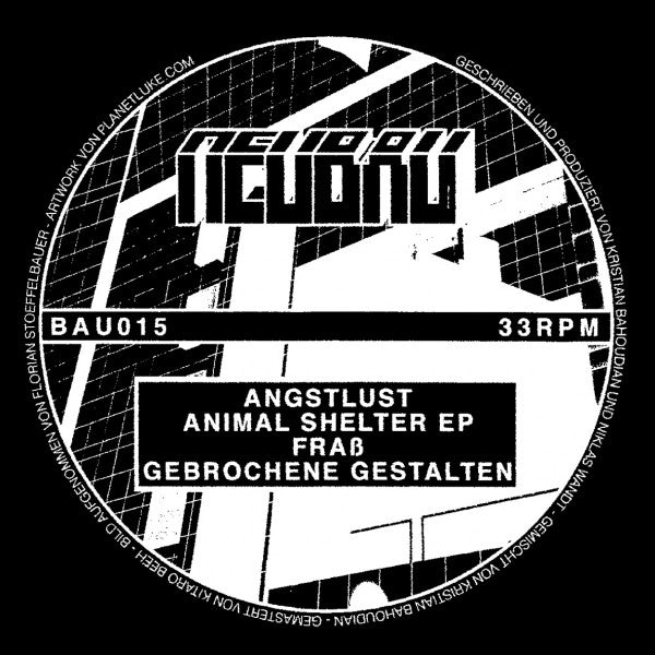 ANGSTLUS - ANIMAL SHELTER EP