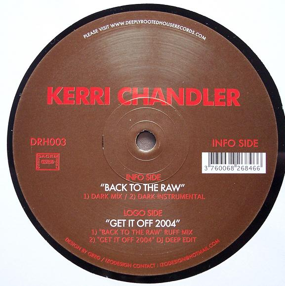 Kerri Chandler - Back To The Raw