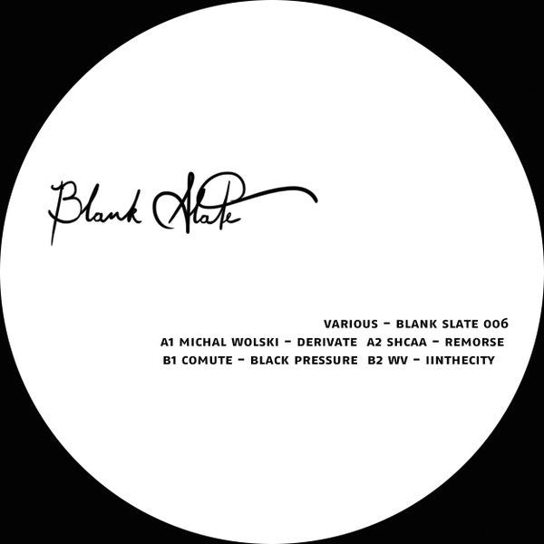 Various - Blank Slate 006 - Lobster Records