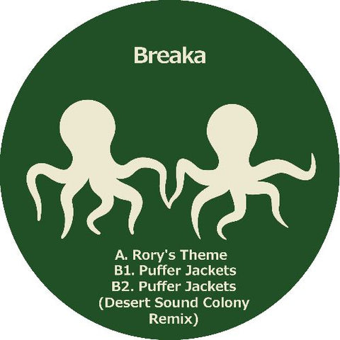 Breaka - Rory's Theme / Puffer Jackets (PRE-ORDER)