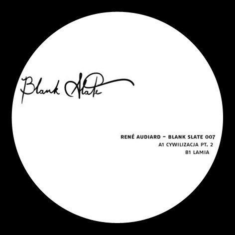Rene Audiard - Blank Slate 007 - Lobster Records