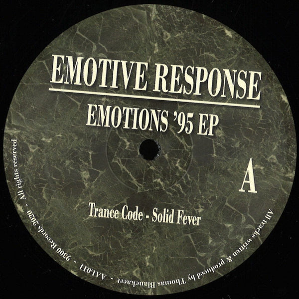 Emotive Response - Emotions '95 REPRESS