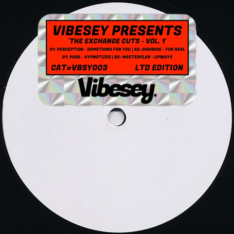Vibesey Presents: VBSY003 Various Artists - The Exchange Cuts, Vol. 1