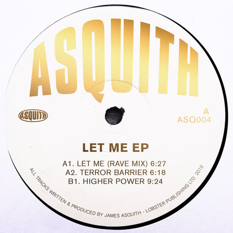 Asquith - Let me EP (PRE-ORDER)