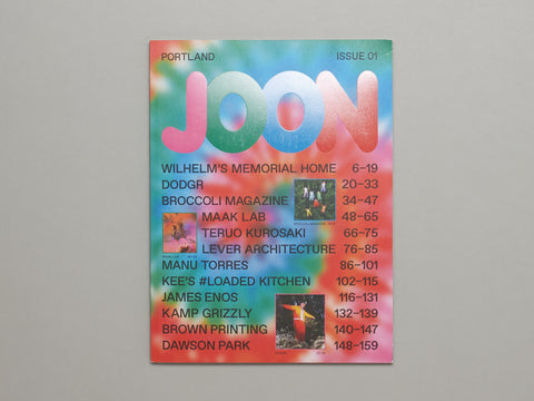 JOON, Issue 1