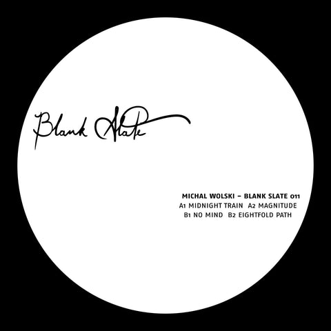 Michal Wolski - Blank Slate 011 - Lobster Records