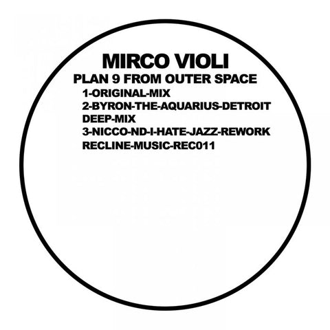 Mirco Violi - Plan 9 From Outer Space