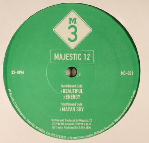 Majestic 12 - Beautiful / Energy / Mayan Sky