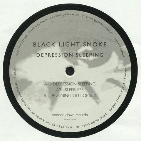 Black Light Smoke - Depression Sleeping