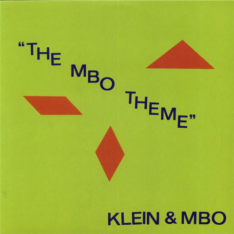 Klein & MBO ‎– The MBO Theme