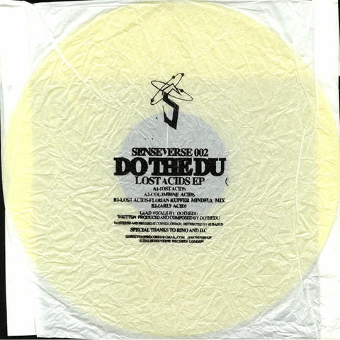 Do The Du ‎– Lost Acids EP