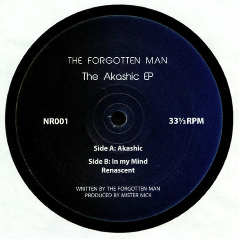 The Forgotten Man ‎– The Akashic EP