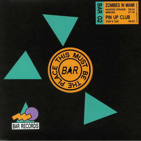 Zombies in Miami / Pin Up Club - BAR Records 02
