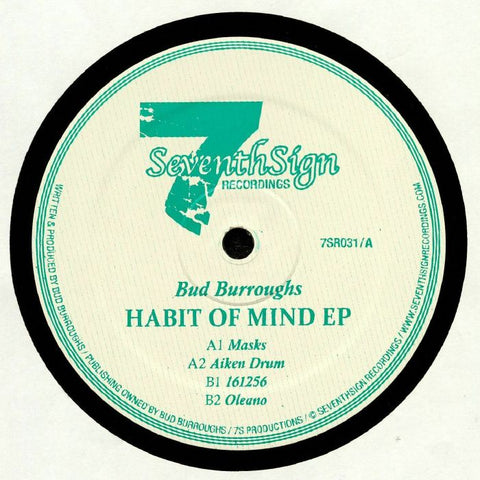 Bud Burroughs - Habit of Mind