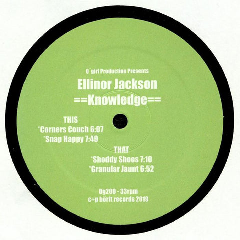 Ellinor Jackson - Knowledge