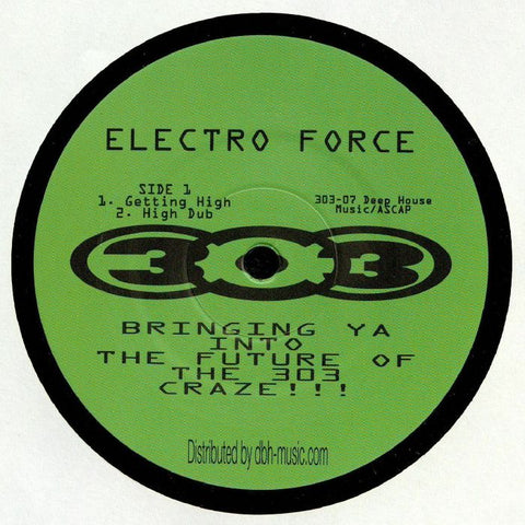 Electro Force - Getting High (PRE-ORDER)