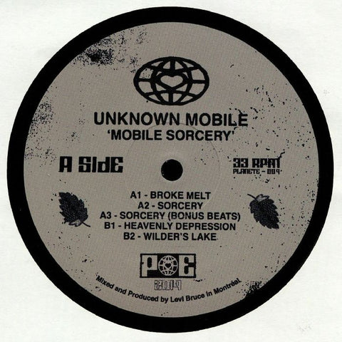 Unknown Mobile - Mobile Sorcery EP (PRE-ORDER)