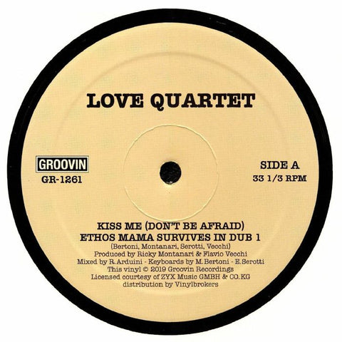 Love Quartet - Kiss Me (Dont Be Afraid)
