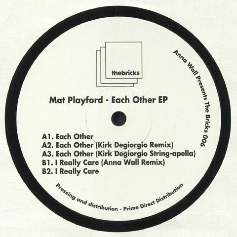 Mat PLAYFORD - Each Other EP