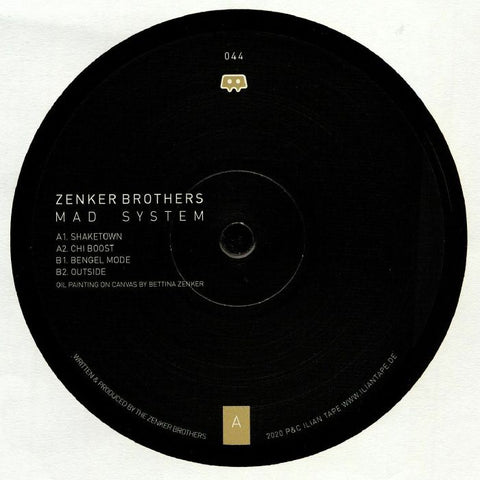 Zenker Brother - Mad System