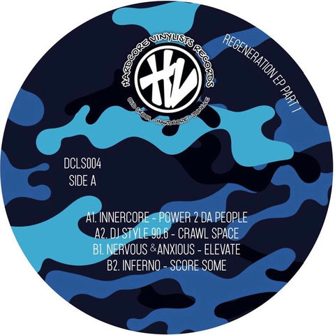Various Artists - Regeneration EP Pt. 1 REPRESS