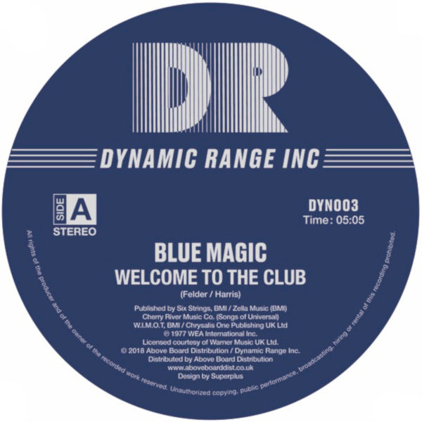 Blue Magic - Welcome to the Club