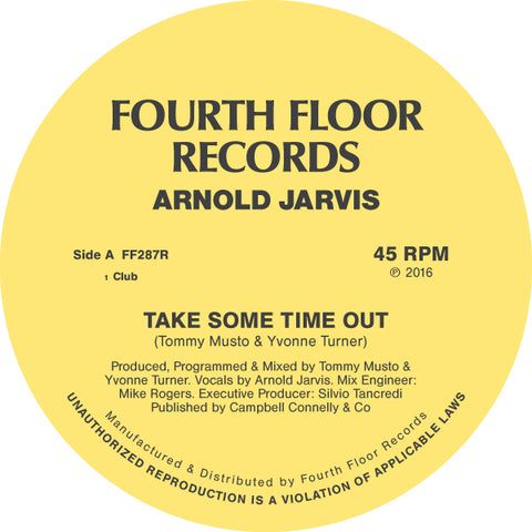 ARNOLD JARVIS - TAKE SOME TIME OUT FEAT. ILIJA RUDMAN REMIX