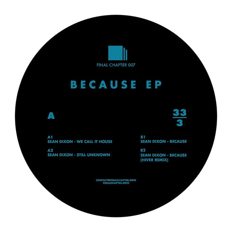 Sean Dixon - Because EP