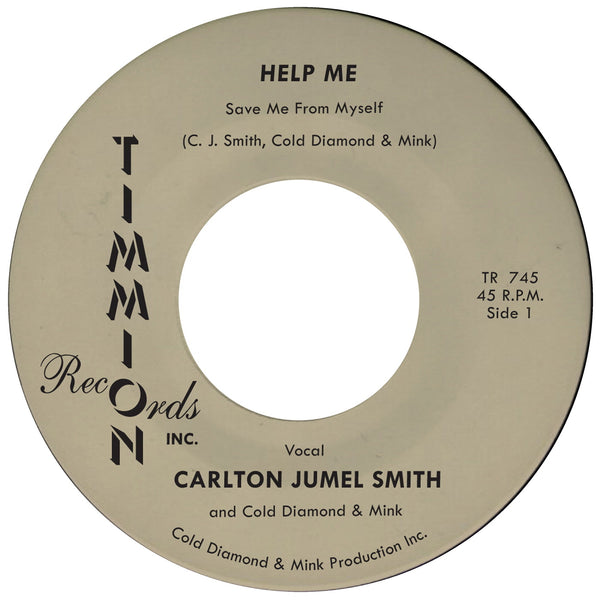 Carlton Jumel Smith & Cold Diamond & Mink - Help Me [Save Me From Myself]