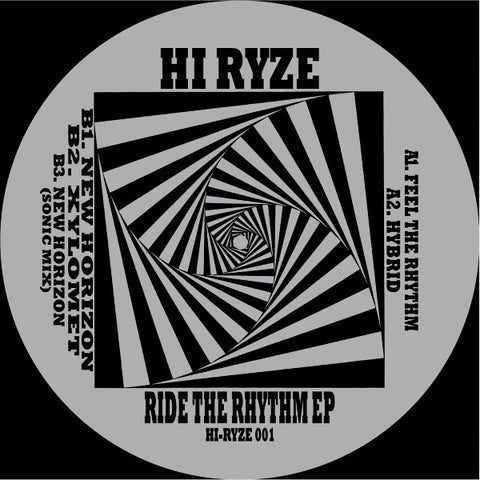 Hi Ryze - Ride The Rhythm EP
