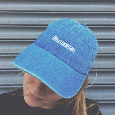 Discwoman Embroidered Denim Hat