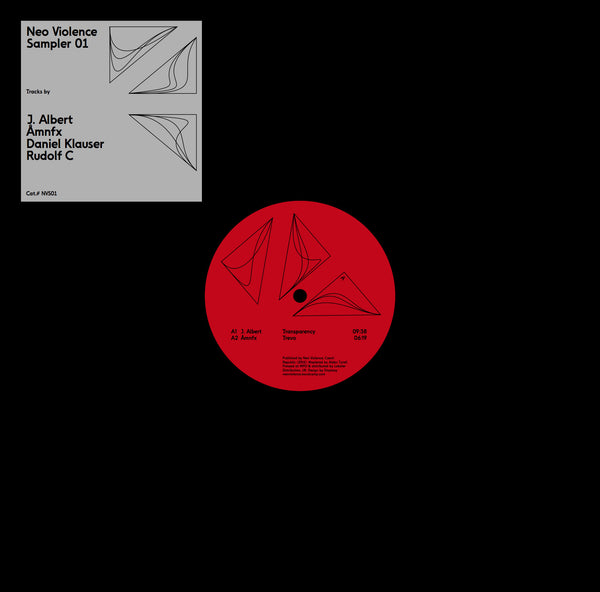 Various Artists - Sampler 001 - Lobster Records