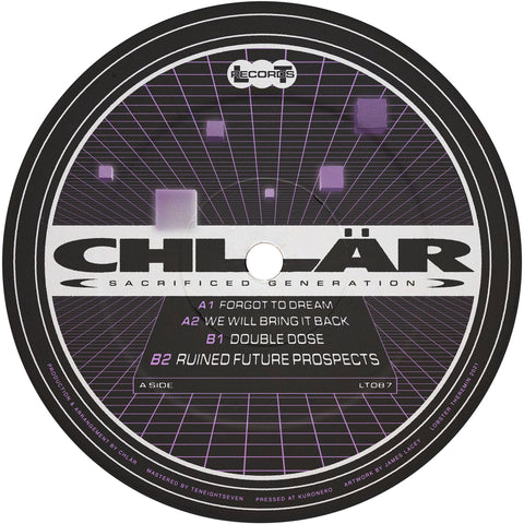 Chlär - Sacrificed Generations (PRE-ORDER)