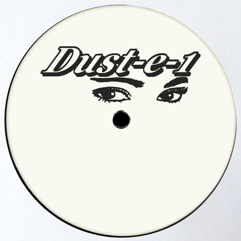 Dust-e-1 - The Lost Dustplates EP (Clear Orange Vinyl Repress)