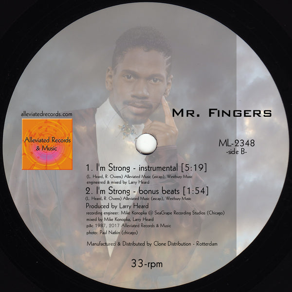 Robert Owens / Mr. Fingers I'm Strong