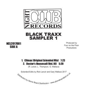 BLACK TRAXX - SAMPLER 1