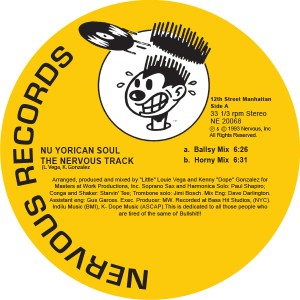 NU YORICAN SOUL - THE NERVOUS TRACK