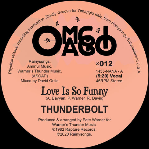 Thunderbolt - Love Is So Funny