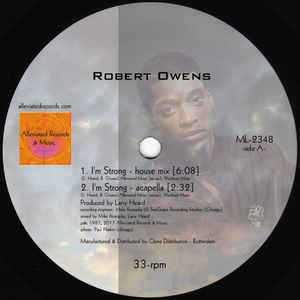 Robert Owens / Mr. Fingers ‎– I'm Strong