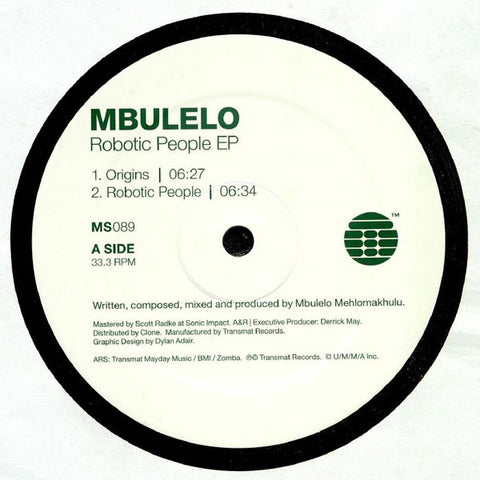 Mbulelo - The Robotic People