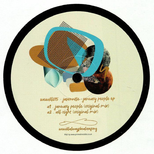 Javonntte ‎– January People EP