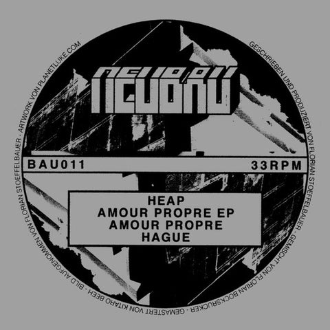 Heap ‎– Amour Propre EP