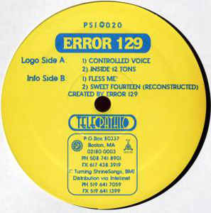 Error 129 - Controlled Voice