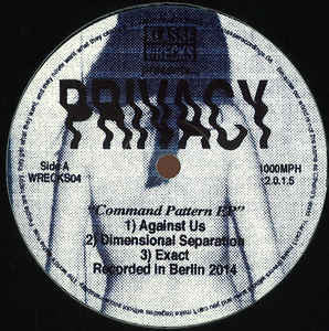 Privacy ‎– Command Pattern EP